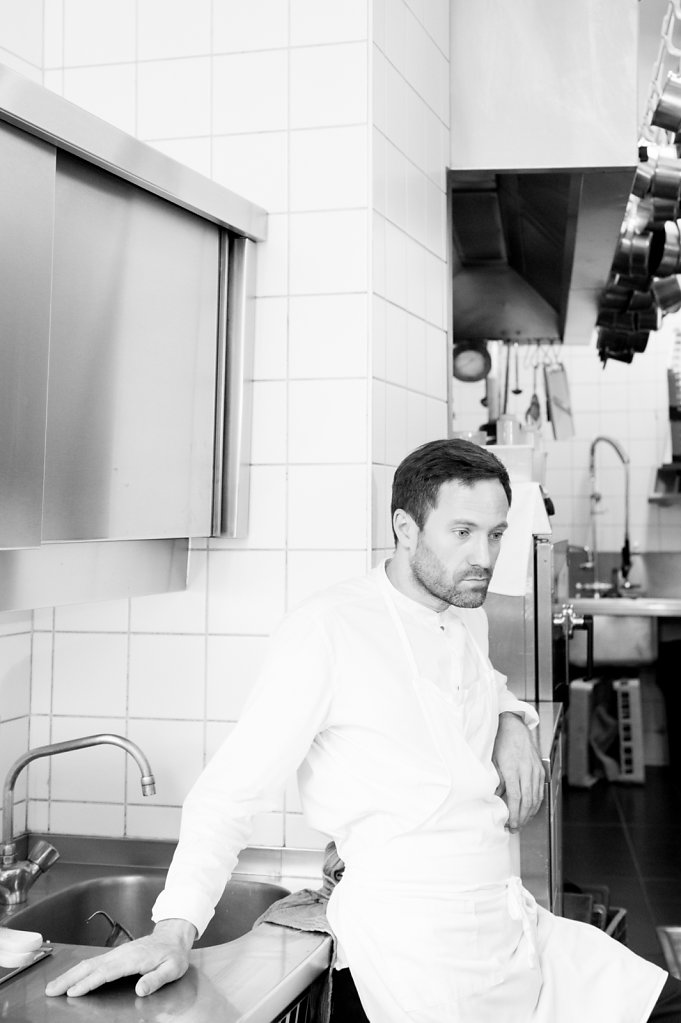 Chef Damien Bouchéry