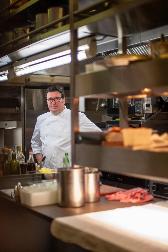 Chef Wouter Keersmaekers / De Schone Van Boskoop Restaurant / Belgium
