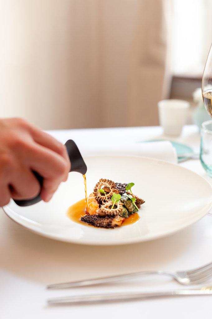 La Canne en Ville Restaurant - 1 Michelin Star / Belgium