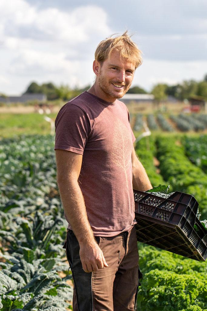 Market Gardener Jérémy Verhelst / La Finca Farm / Belgium