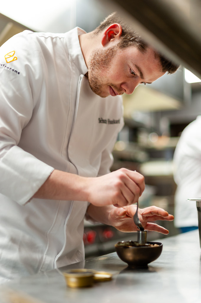 Jean Vrijdaghs / Le Gastronome Restaurant - 1 Michelin Star / Belgium