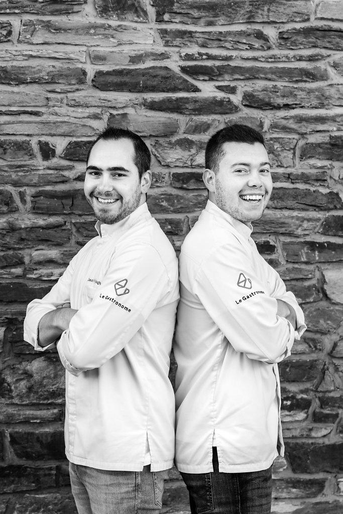 Jean Vrijdaghs & Sébastien Hankard / Le Gastronome Restaurant - 1 Michelin Star / Belgium