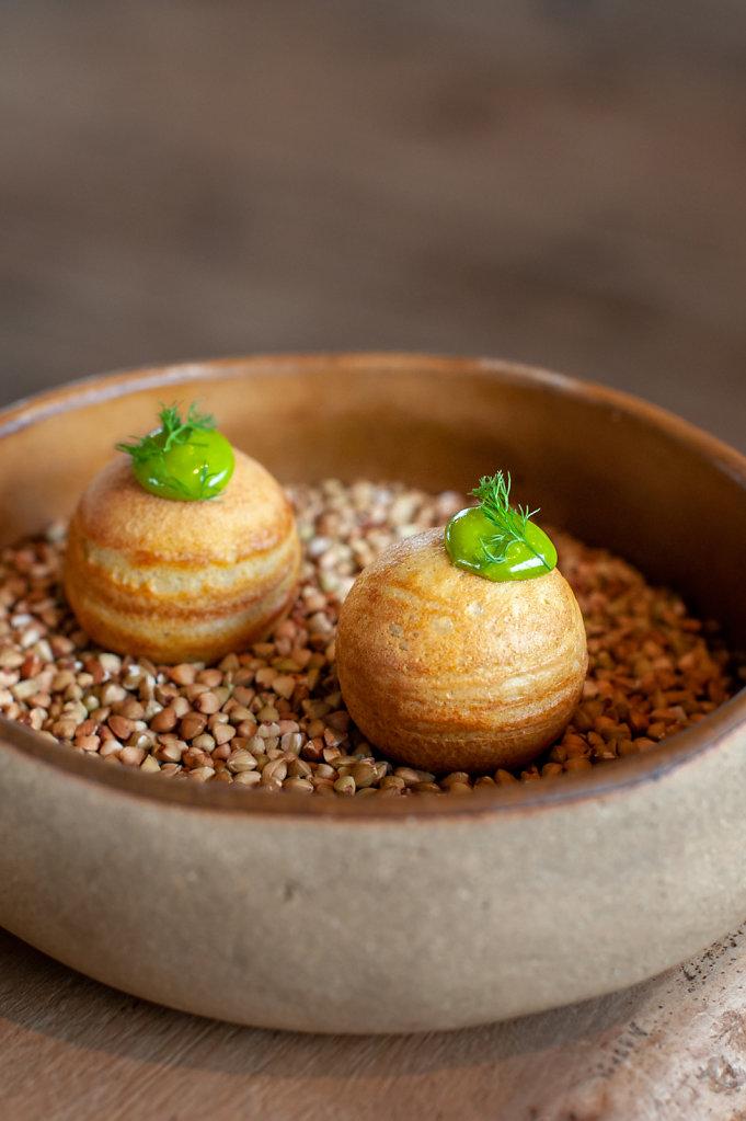 Auberge du Vermont Restaurant / 1 Michelin Star / France